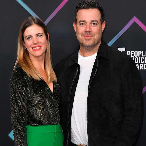 Carson Daly, Siri Pinter, 2018 Peoples Choice Awards, PCAs, Couples