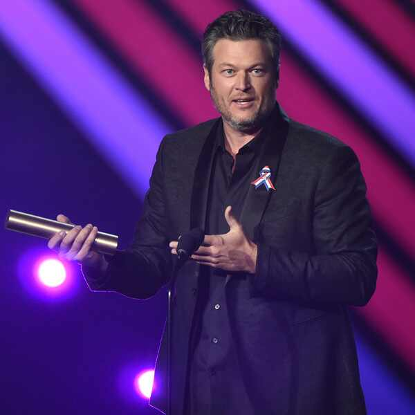 Blake Shelton, 2018 Peoples Choice Awards, Winners