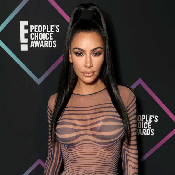 Kim Kardashian, 2018 Peoples Choice Awards, PCAs, Red Carpet Fashions