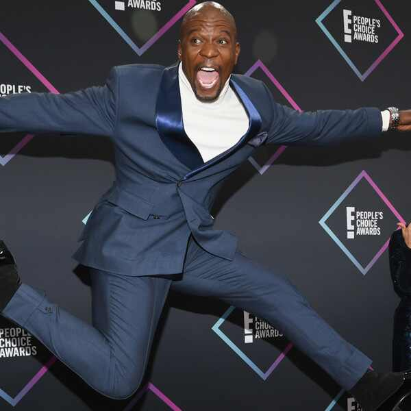 Terry Crews, Rebecca King-Crews, 2018 Peoples Choice Awards, PCAs, Candids