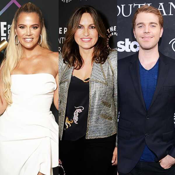 Khloe Kardashian, Mariska Hargitay, Shane Dawson