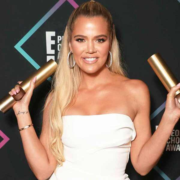 Khloe Kardashian, 2018 People's Choice Awards