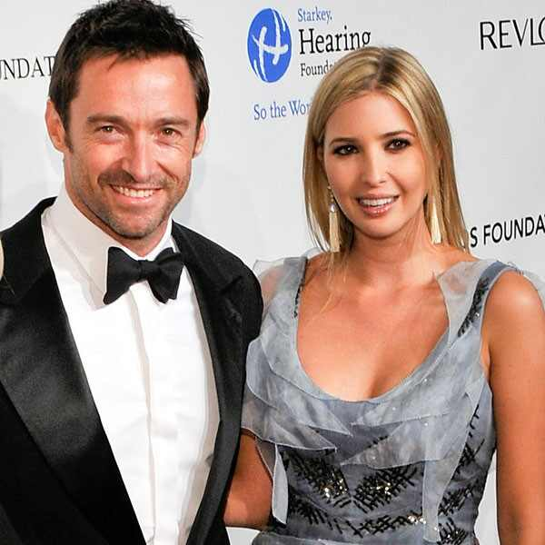 Hugh Jackman, Ivanka Trump, Deborra-Lee Furness
