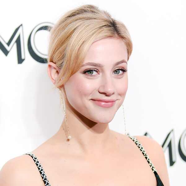 ESC: Lili Reinhart, Red Carpet Beauty