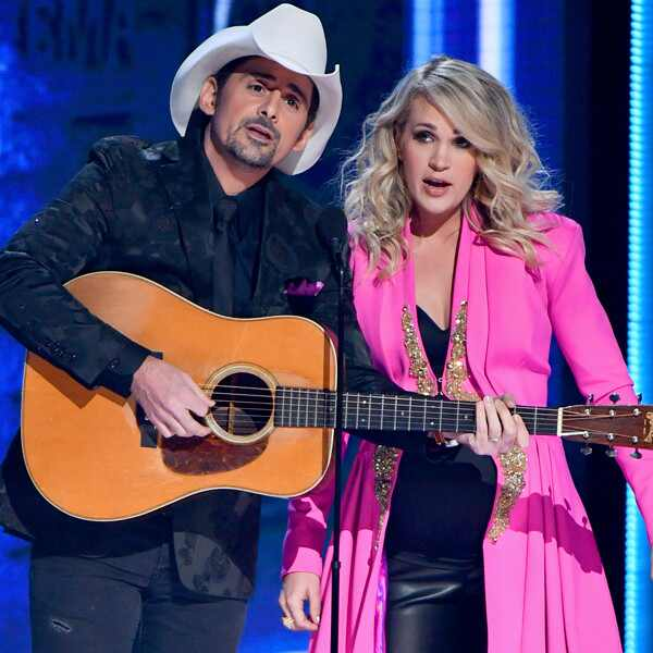 Brad Paisley, Carrie Underwood , 2018 CMA Awards