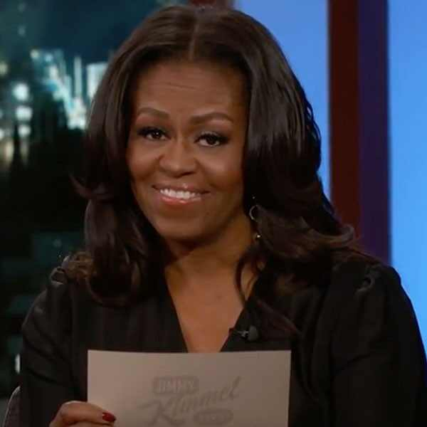 Michelle Obama, Jimmy Kimmel Live