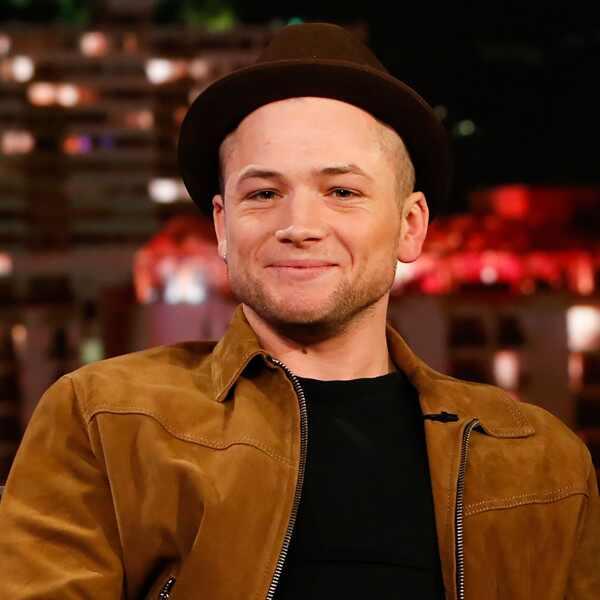 Taron Egerton, Jimmy Kimmel Live