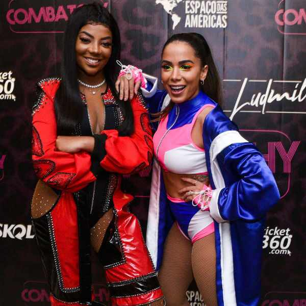 Ludmilla, Anitta, Combatchy 2018