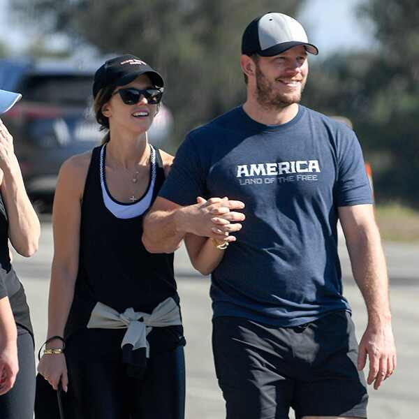 Chris Pratt, Katherine Schwarzenegger, Thanksgiving