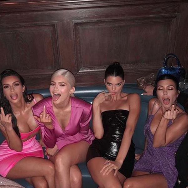 Kim Kardashian, Kourtney Kardashian, Kendall Jenner, Kylie Jenner