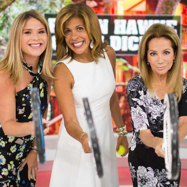 Jenna Bush Hager, Hoda Kotb and Kathie Lee Gifford