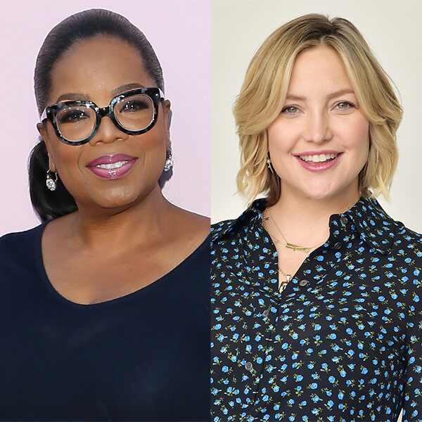 Oprah Winfrey, Kate Hudson