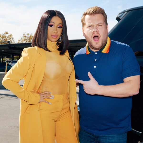 Cardi B, The Late Late Show with James Corden