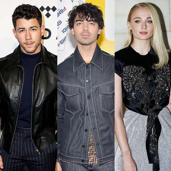 Nick Jonas, Joe Jonas, Sophie Turner