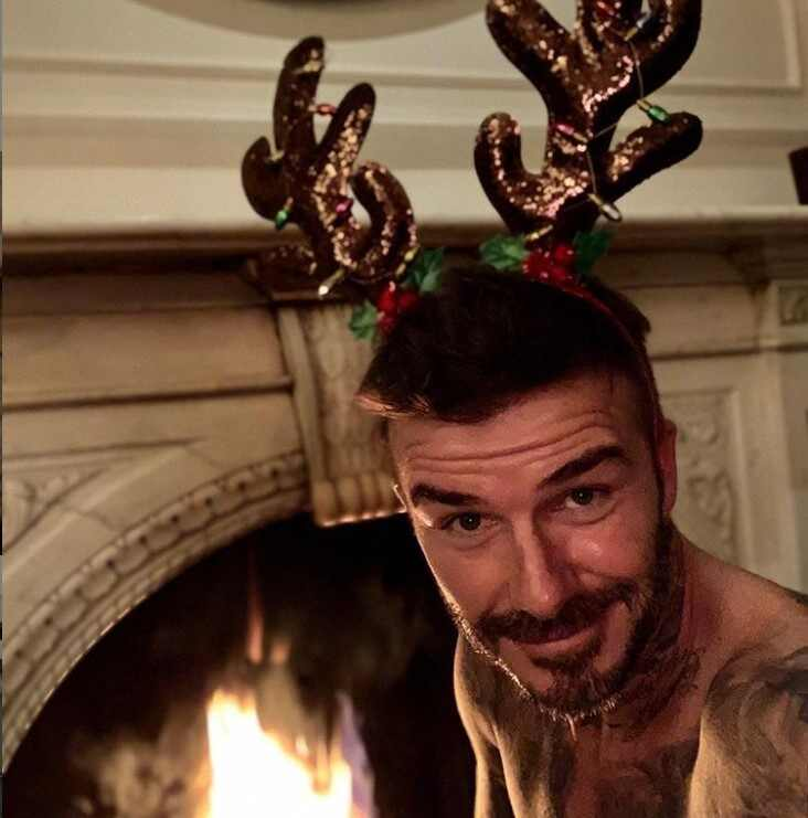 David Beckham, Christmas