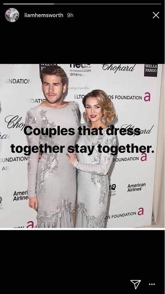 Liam Hemsworth, Miley Cyrus, San Valentin 2018