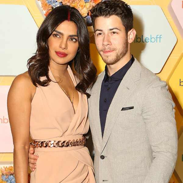Nick Jonas, Priyanka Chopra, Bumble Event