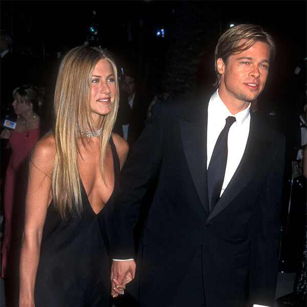 Jennifer Aniston, Brad Pitt, 2000