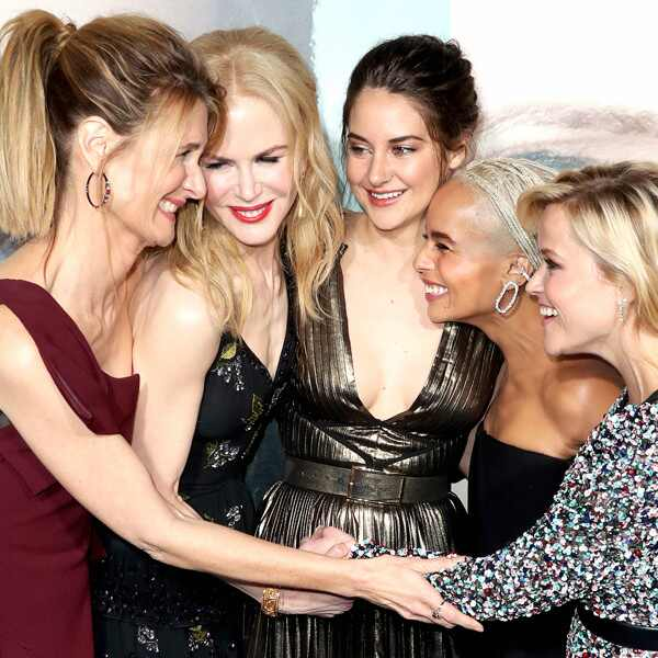 Laura Dern, Nicole Kidman, Shailene Woodley, Zoe Kravitz, Reese Witherspoon, Big Little Lies