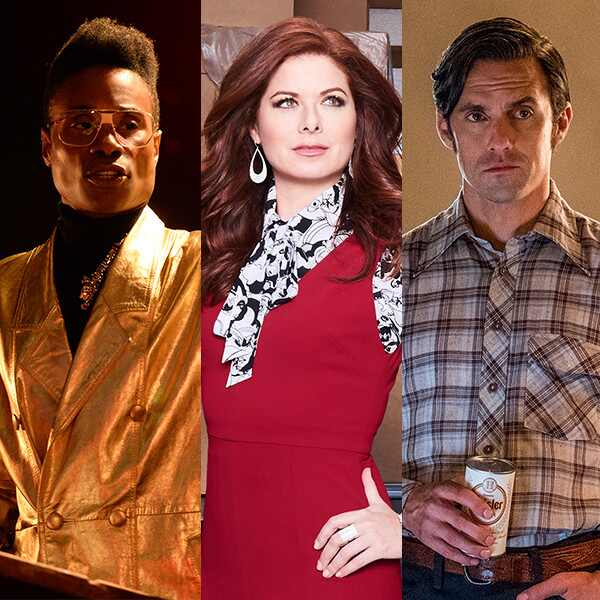 Billy Porter, Debra Messing, Milo Ventimiglia