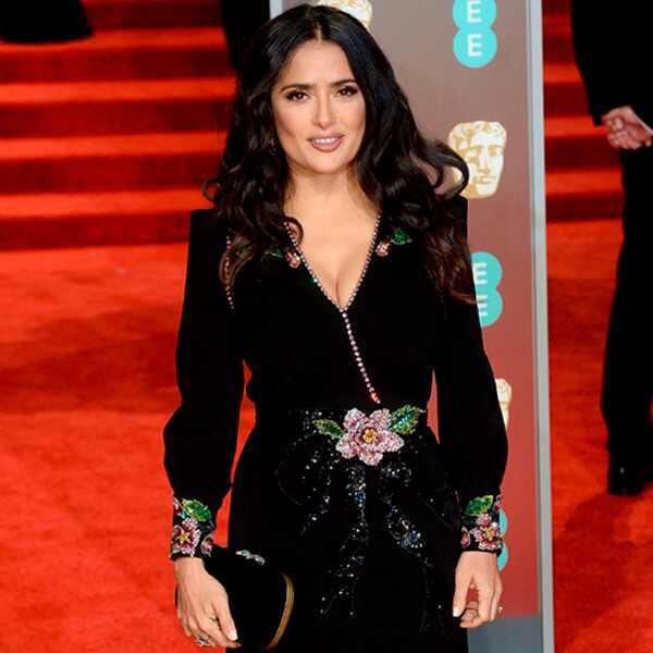 Salma Hayak, BAFTAs