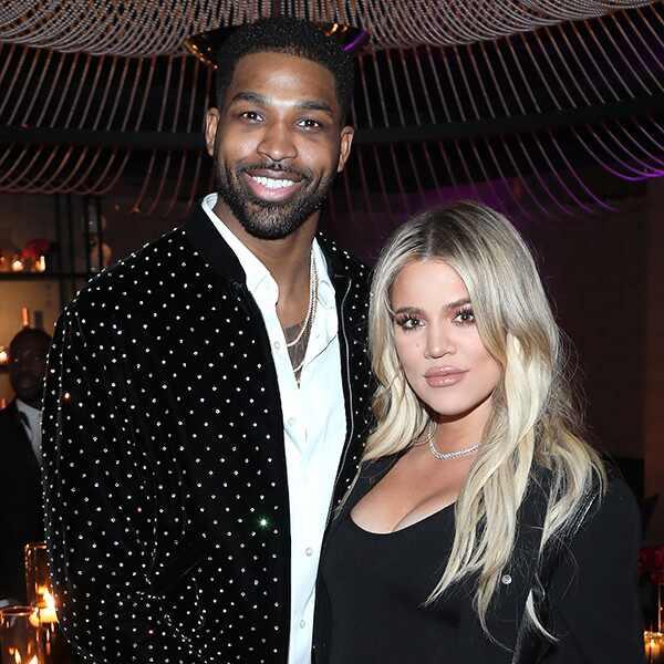 Khloe Kardashian, Tristan Thompson, Pregnant, Baby Bump, 2018 NBA All-Star Weekend Party