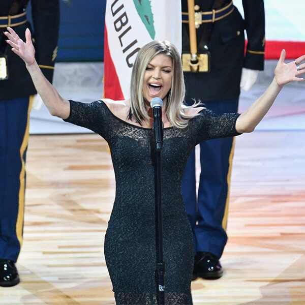 Fergie, National Anthem