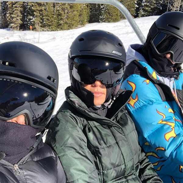 Kourtney Kardashian, Kim Kardashian, Kendall Jenner, Instagram