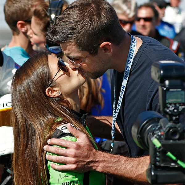 Danica Patrick, Aaron Rodgers