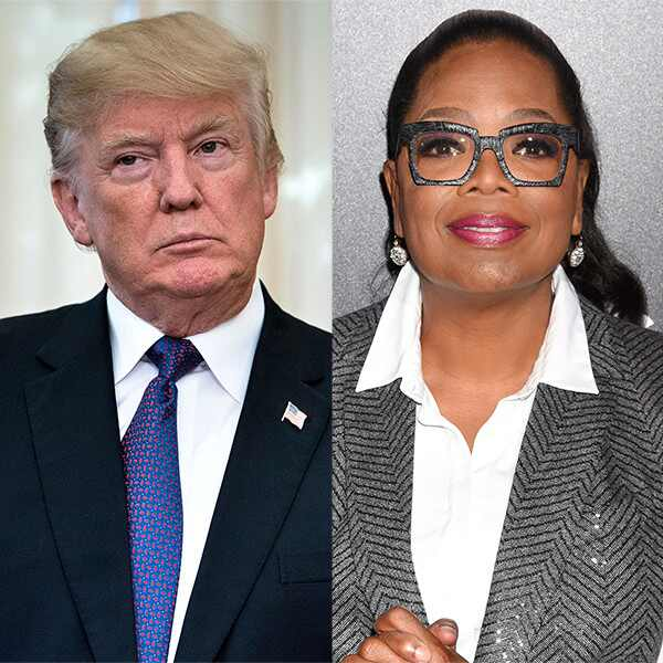 Donald Trump, Oprah Winfrey