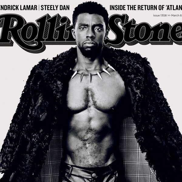 Chadwick Boseman, Rolling Stone