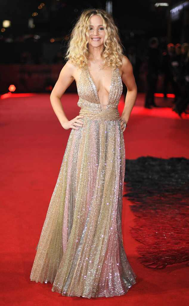 Jennifer Lawrence, Red Sparrow Premiere, London