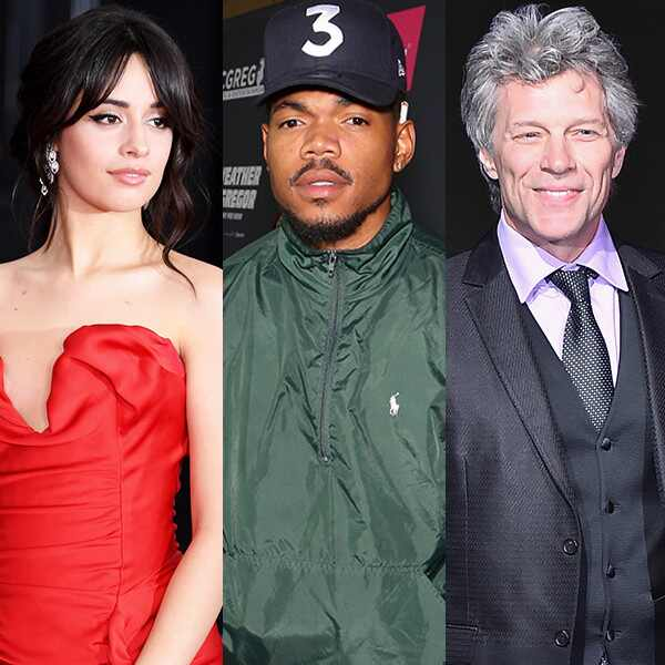 Camila Cabello, Chance the Rapper, Bon Jovi