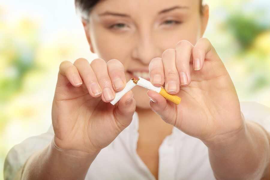 ¡Esto es lo que pasa cuando dejas de fumar!