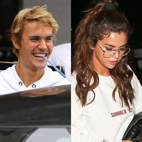 Selena Gomez, Justin Bieber, Glasses