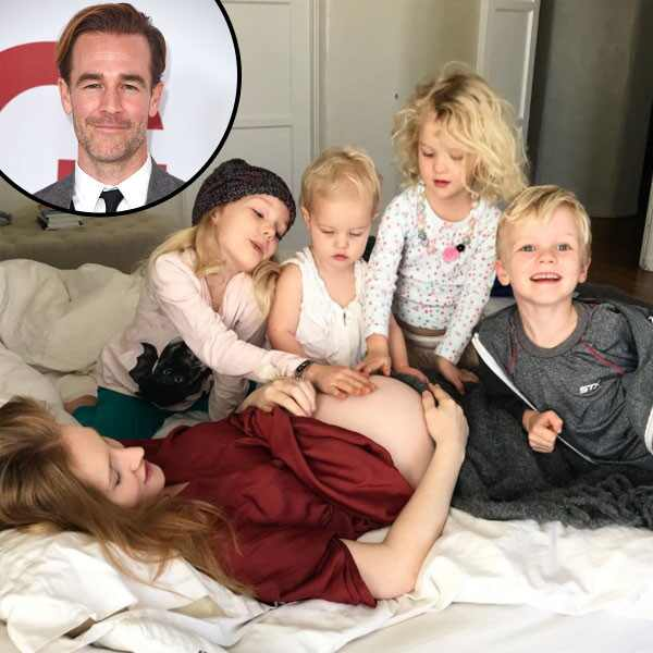 James Van Der Beek, Family
