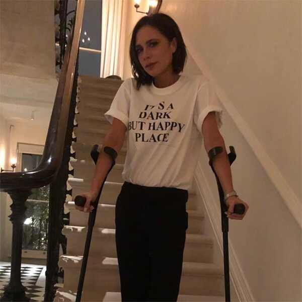 Victoria Beckham, Injury, Foot