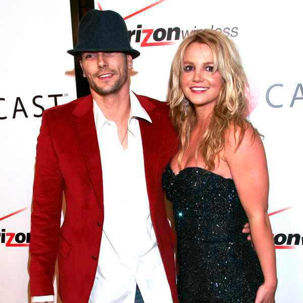 Britney Spears, Kevin Federline, Grammy Couples