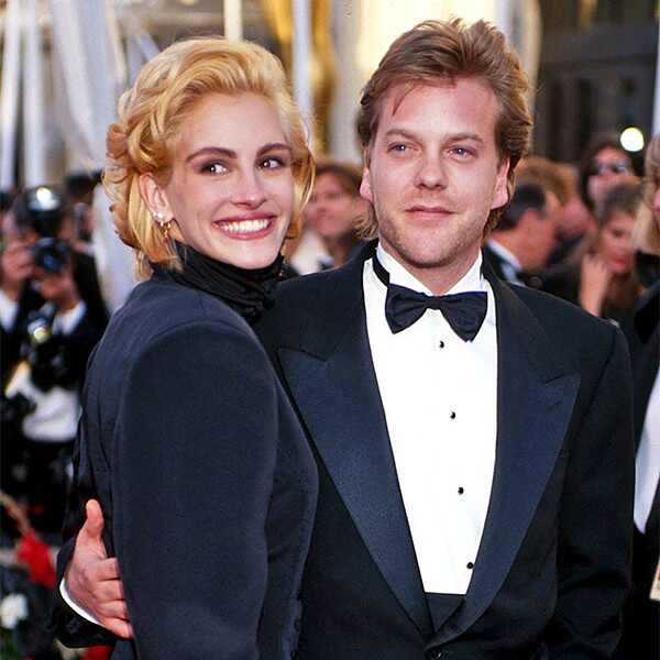 Oscar Couples, Julia Roberts, Kiefer Sutherland