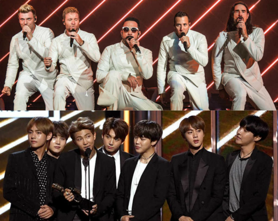 Integrantes do Backstreet Boys revelam que são fãs de BTS