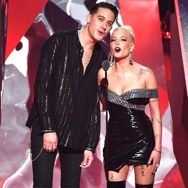 G-Eazy, Halsey, 2018 iHeartRadio Music Awards, Show
