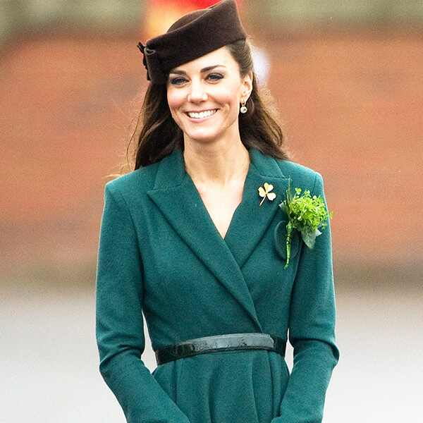 Kate Middleton, St. Patricks Day 2012