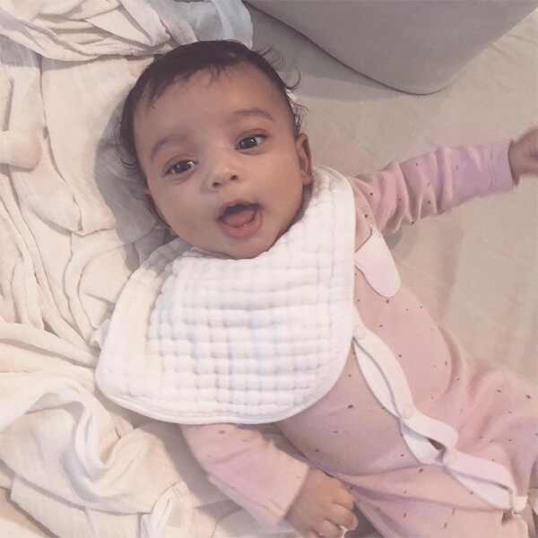 Chicago West, Kim Kardashian, Baby, 2 Months