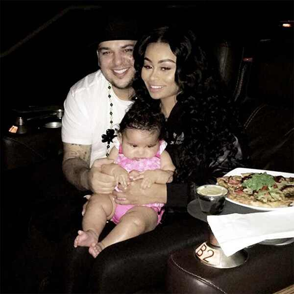 Blac Chyna, Rob Kardashian, Dream Kardashian, Throwback, Birthday