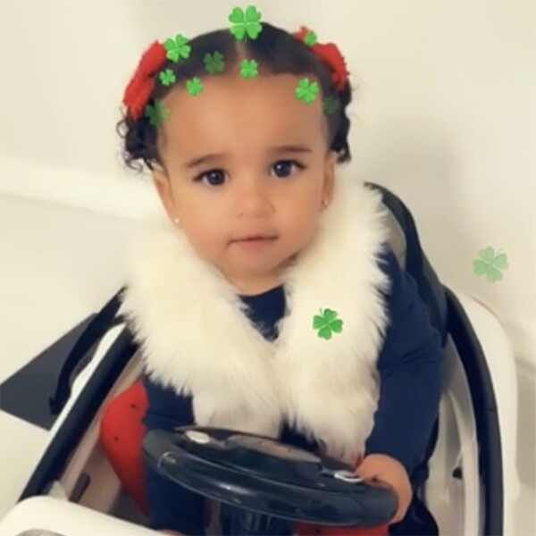 Dream Kardashian, Rob Kardashian, Daughter, St Patrick's Day