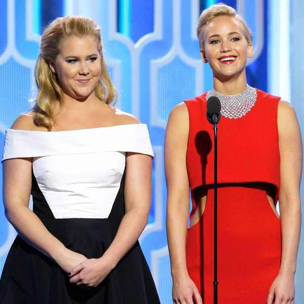 Jennifer Lawrence, Amy Schumer, Golden Globe Awards