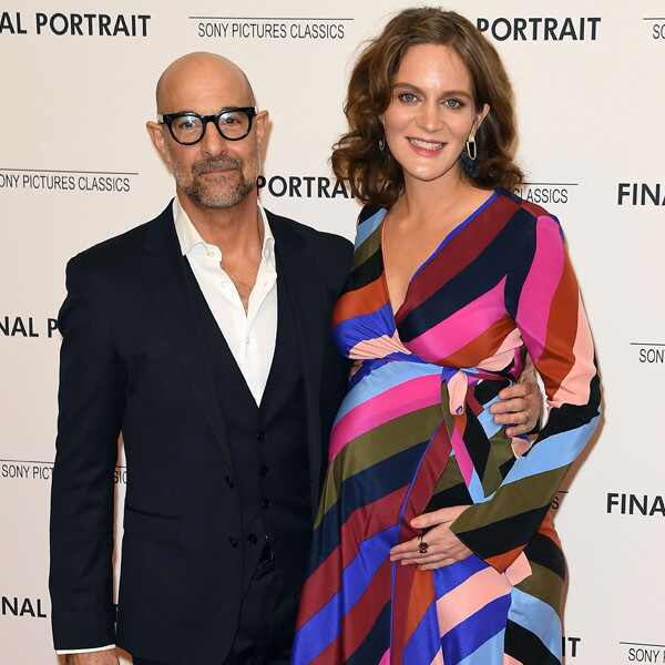 Stanley Tucci, Felicity Blunt, Pregnant