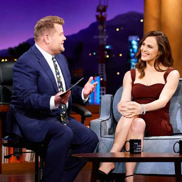 Jennifer Garner, James Corden, The Late Late Show