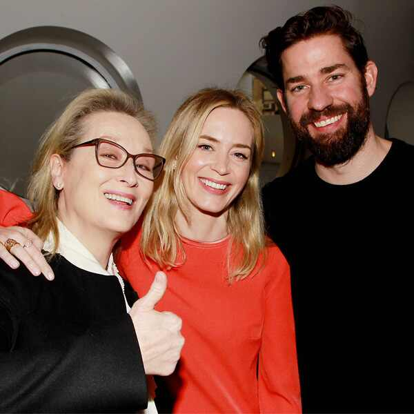 Meryl Streep, Emily Blunt, John Krasinski