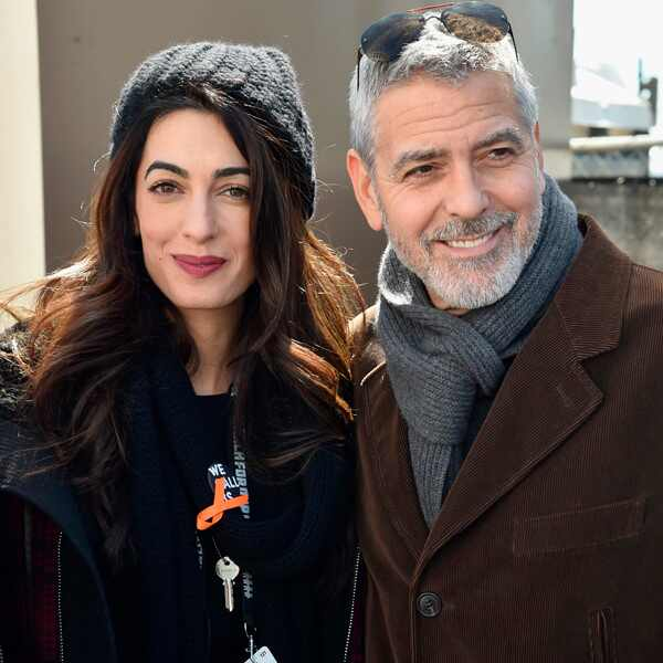Amal Clooney, George Clooney, March for Our Lives